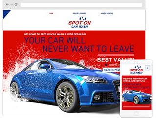 How to create Auto Glass Website Design