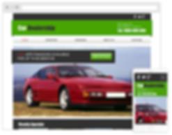 parts distributor web design