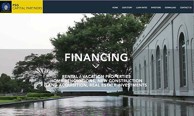 Mortgage Website Design