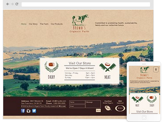 How to create an agriculture website design