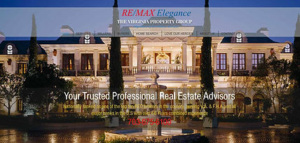 Remax Real Estate Website Design