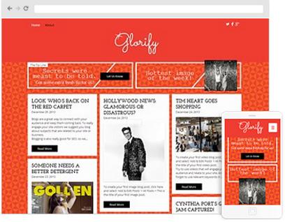 Comedy web design