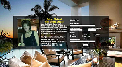 California Real Estate Website Design