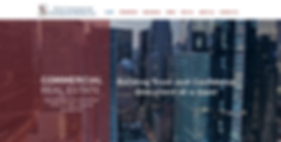 commercial property web design