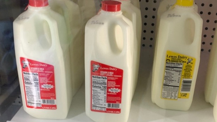 Vitamin D Milk & 2% Milk