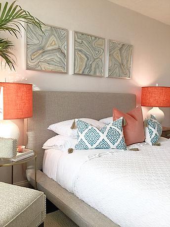 Vibrant Feminine Bedroom