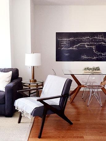 Masculine Contemporay Living Room