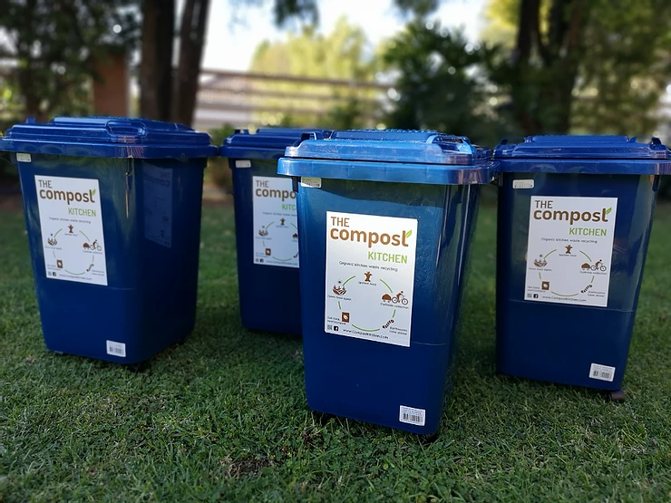 Organic Waste Collection Bins from The Compost Kitchen