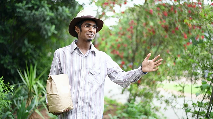Himkaar founder of The Compost Kitchen