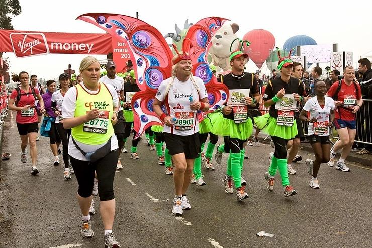 Virgin Money London Marathon 2010
