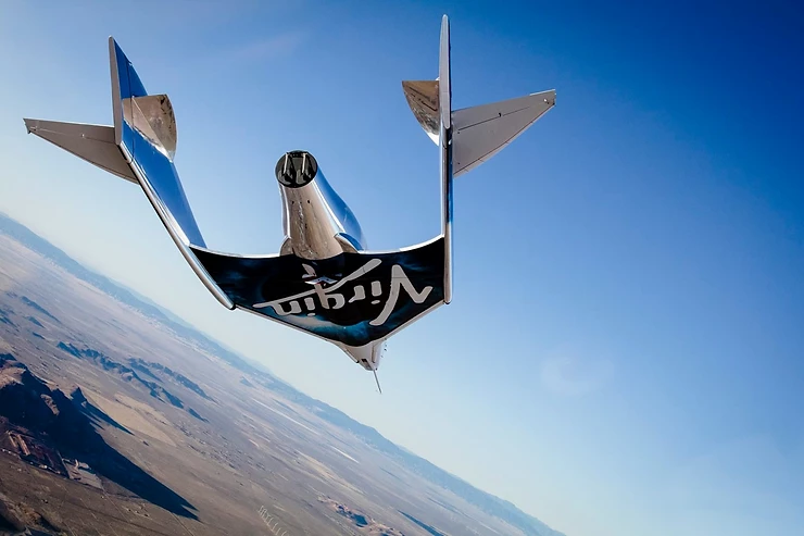 VSS Unity's first space glide