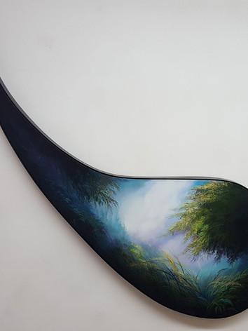 """Nature's Tear # 2"" Oil on Canvas, 60""x 60"" 2017"