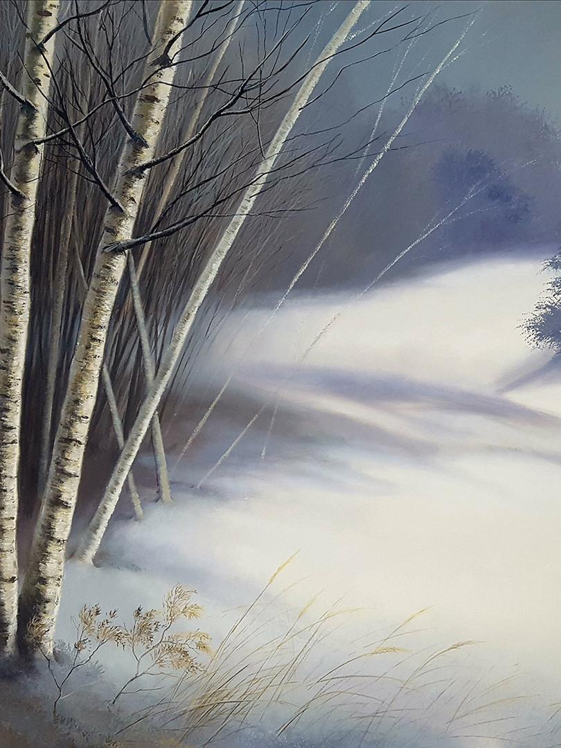"""L'Hiver # 2"" Oil on Canvas, 60"" x 80"" 2011"