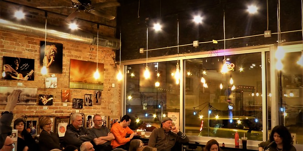 Rob Moore @ Cafe City News Cafe