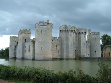 Step back to medieval times at Bodiam Castle