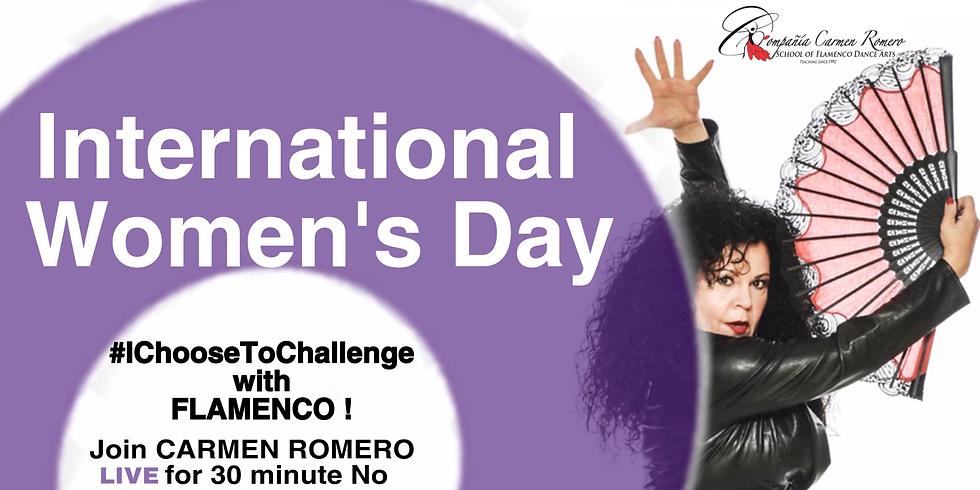 International Women's Day #ChooseToChallenge with Flamenco!