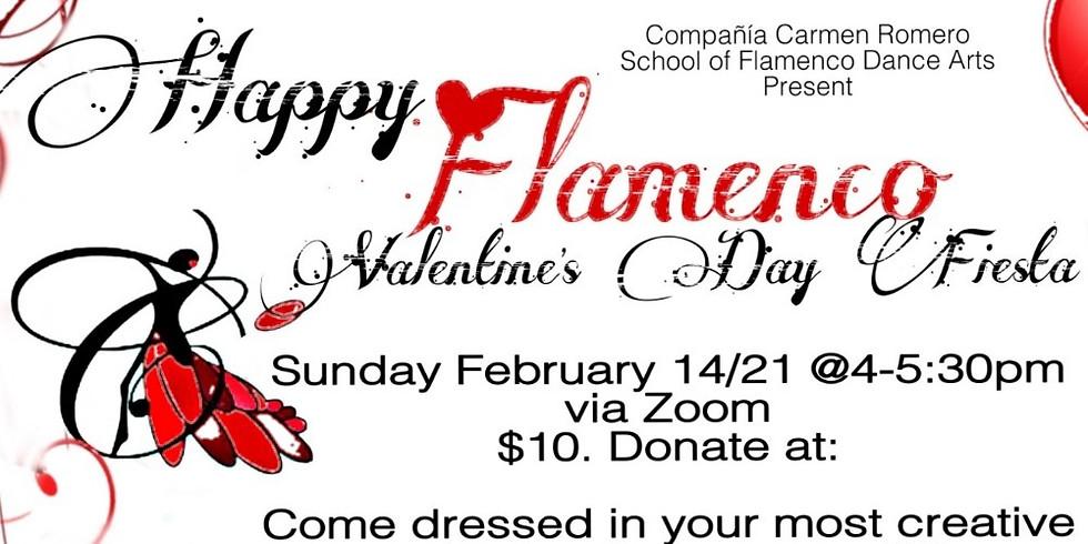 Valentine's Day Flamenco Fiesta