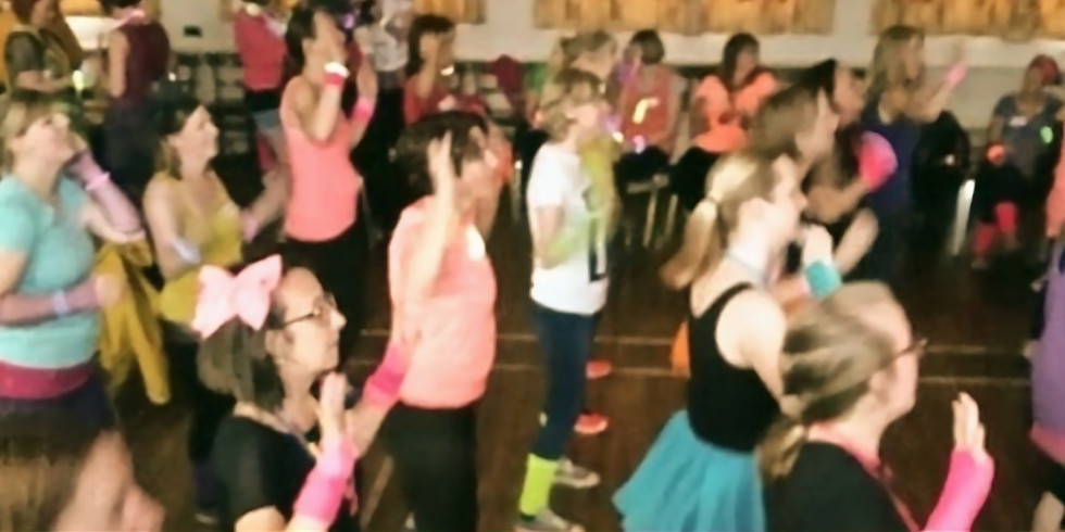 April meeting - Back to the 80's with Jo Porter, Kitchen Dancing