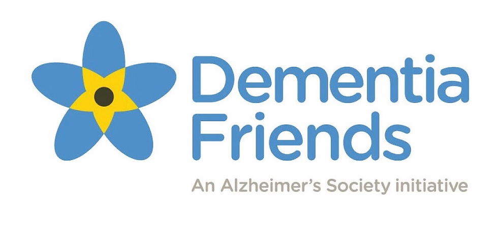 May meeting 2020 - Become a Dementia Friend