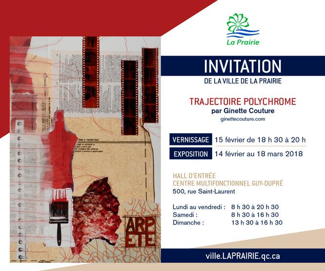 Exposition «Trajectoire polychrome»
