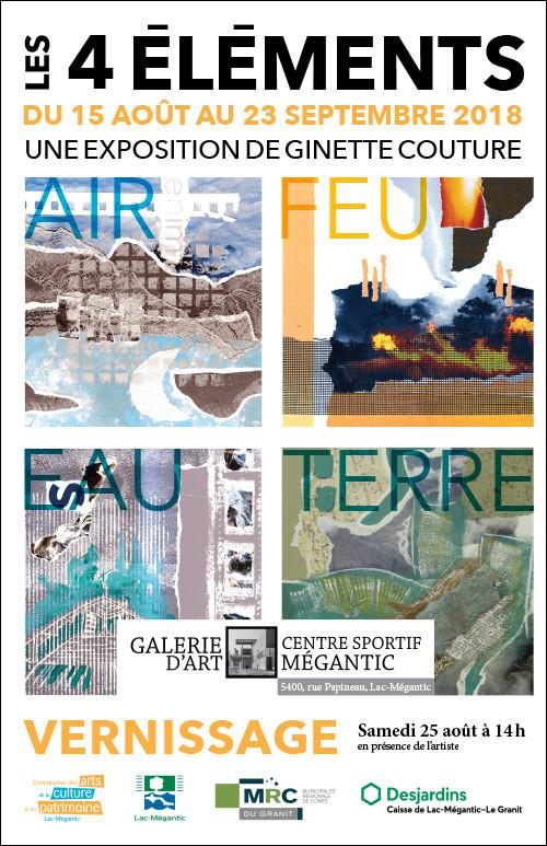 Exposition «Les quatre éléments»