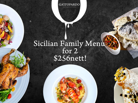 #StayHome with Tasty Sicilian Treats from Gattopardo
