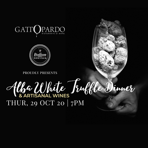 Alba White Truffle Dinner