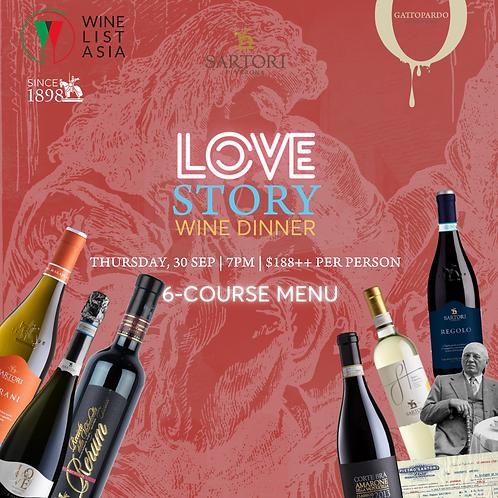 Love Story Wine Dinner