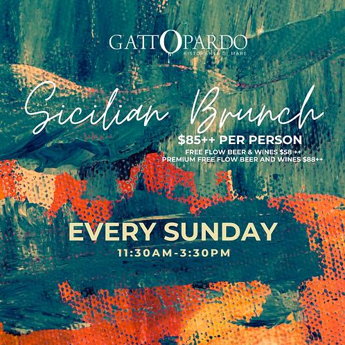 Sicilian Brunch - Every Sunday
