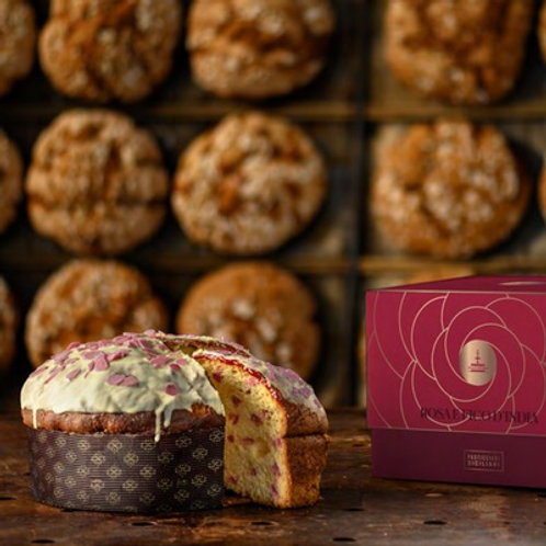 Panettone Rose and Prickly Pear (1kg)