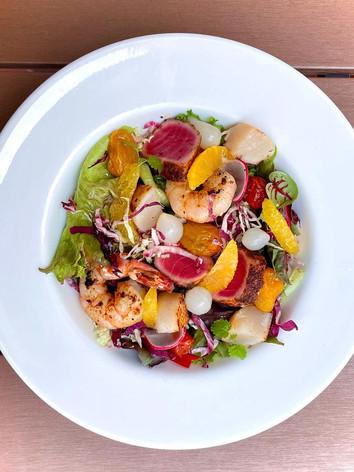 Sicilian seafood salad - italian food delivery