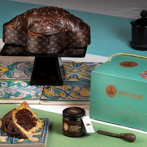 Panettone with Modica Chocolate (1kg)