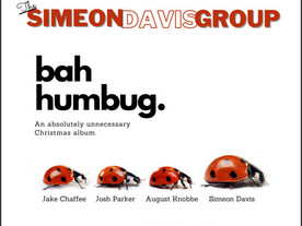 The Simeon Davis Group: Bah Humbug: An Absolutely Unnecessary Christmas Album (released 12/2020)