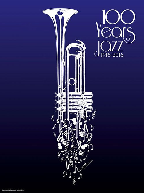 Limited Edition 100 Years of Jazz Lithograph