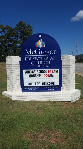 McGregor Presbyterian