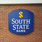 South State Bank Wall Sign