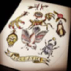 LounaticTattoo Tätowiererin Köln Pigment Gallery Old School Tattoo