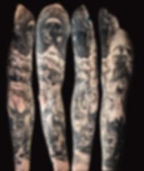 human nature tattoo by Mehdi Rasouli bro