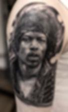 Jimi Hendrix Tattoo by Mehdi Rasouli brokentoothtattoo