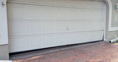 Do you have too much stuff by your garage door?