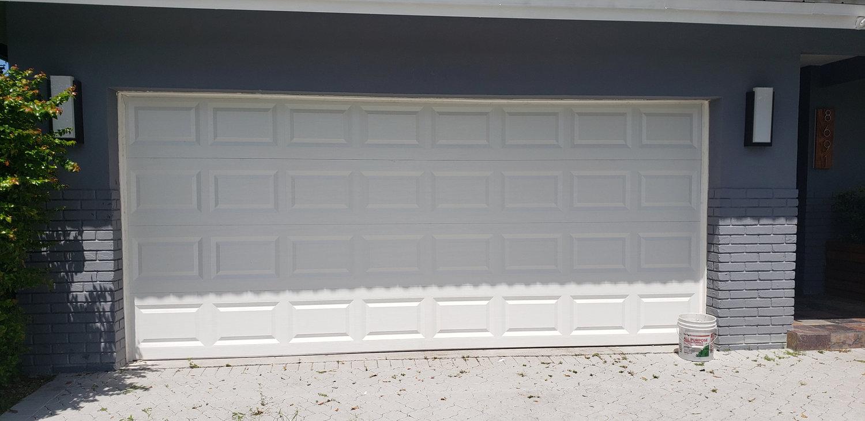 New Garage Door Install