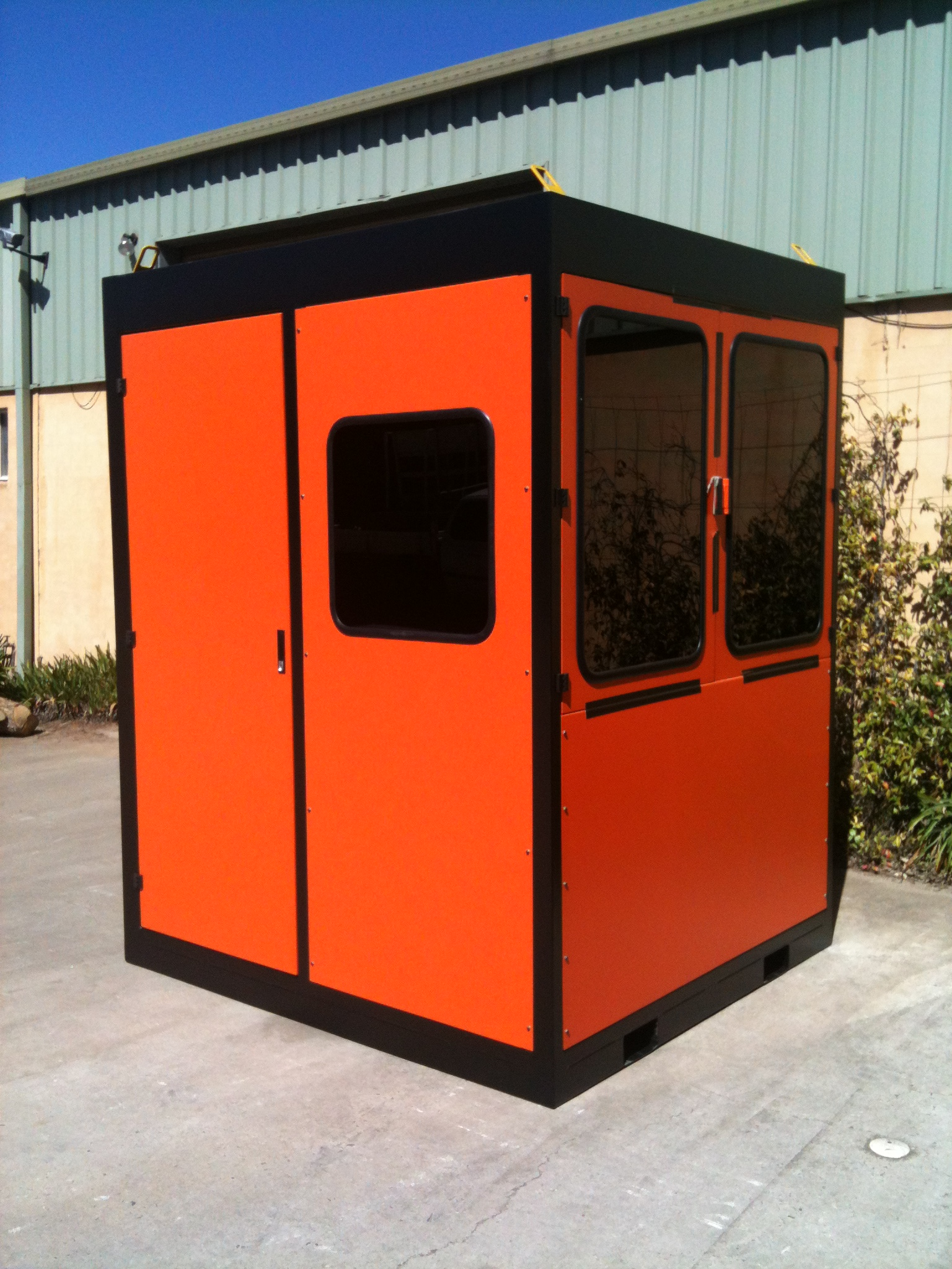 Kemppi Welding Robot Enclosure