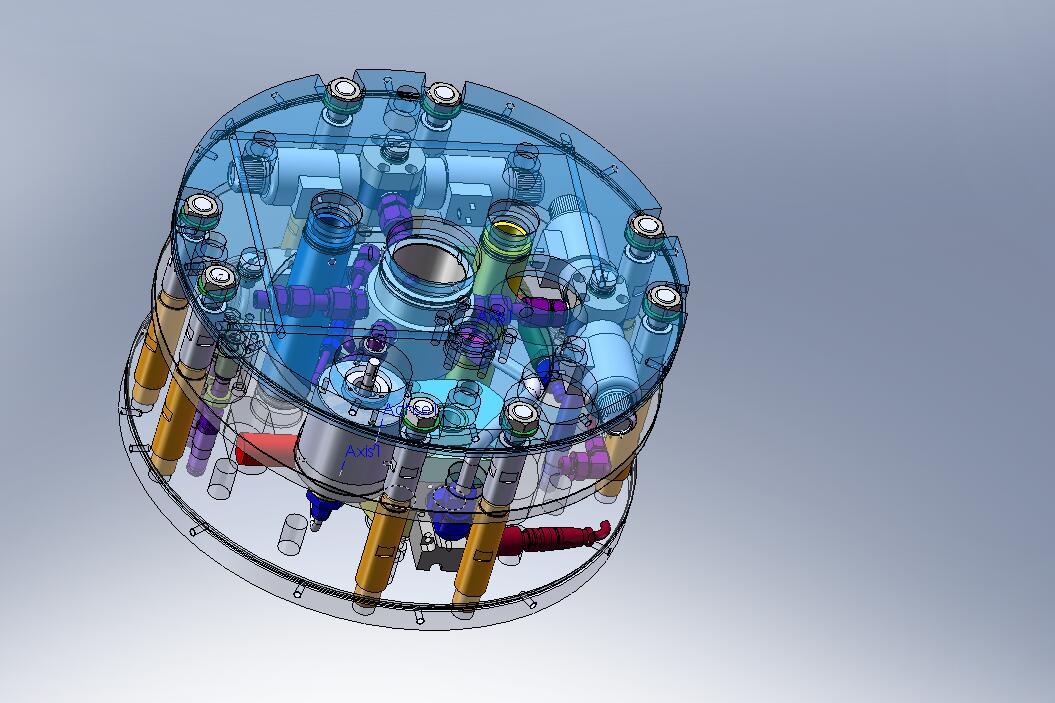 Hydraulic Valve & Motor Assembly