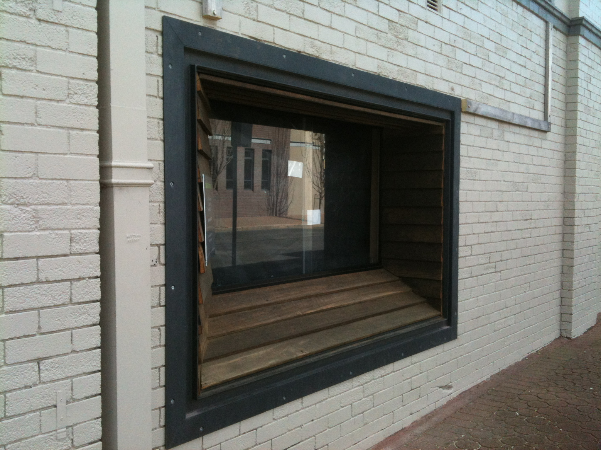 Recessed Window Frame