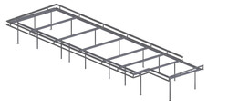 Steel House Frame Bundanoon