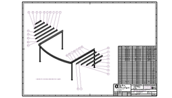 Curved Pergola Assembly