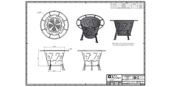 Fabricated Steel Fire Pit