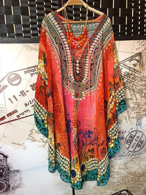 Kimono Cerrado Naranjo