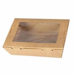 Boite en carton avec fenêtre