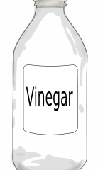 Vinegar - natures green cleaner!